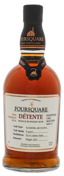 Foursquare Rum Detente 10 Jahre 0,7L 51%