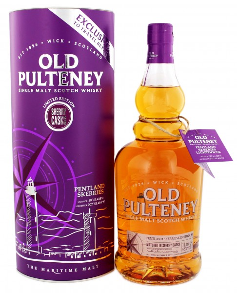 Old Pulteney Single Malt Whisky Pentland Skerries