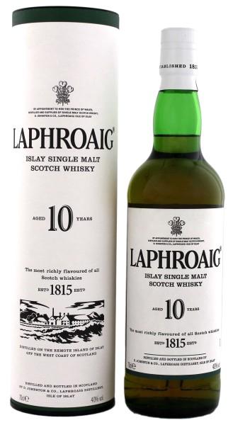 Laphroaig Single Malt Whisky 10 Years Old