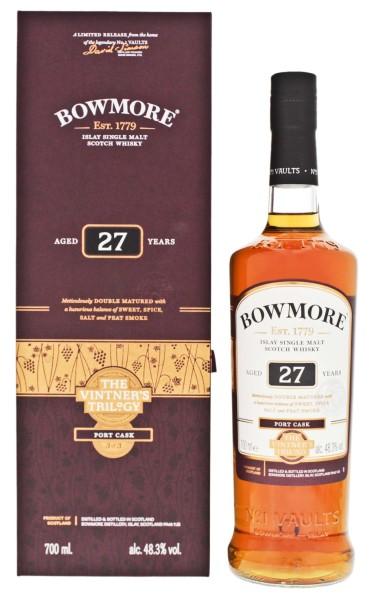 Bowmore 27YO Port Cask The Vintner's Trilogy 0,7L 48,3%