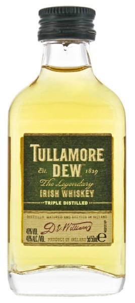 Tullamore Dew Irish Whisky Miniatur 0,05L 40%