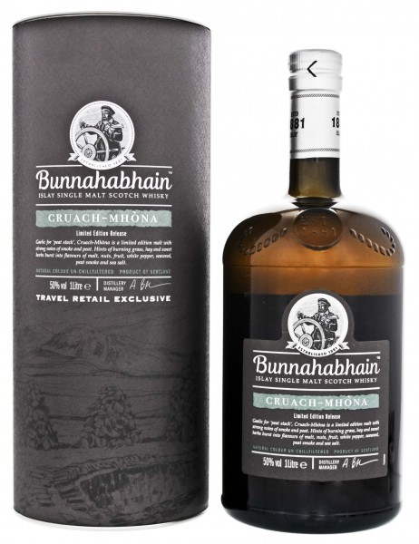 Bunnahabhain Cruach Mhòna Single Malt Whisky 1,0L 50%