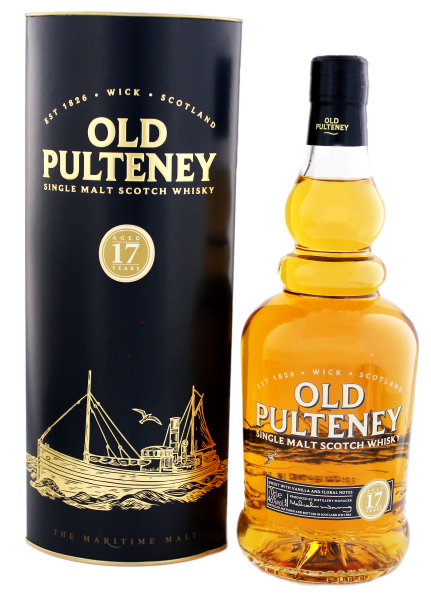 Old Pulteney Single Malt Whisky 17 Years Old, 0,7 L, 40%