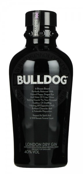 Bulldog London Dry Gin 1,0L 40%