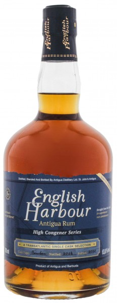 English Harbour High Congener Series 2014/2020 Limited Edition 0,7L 63,8%