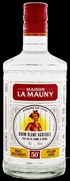 La Mauny Rhum Agricole Blanc 0,7L 50%