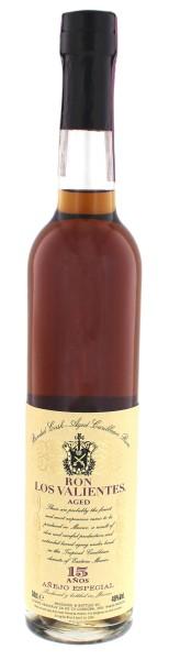 Los Valientes Rum Anejo Especial 15 Years Old, 0,5 L, 40%