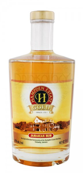 Hampden Estate Gold Rum 0,7L 40%
