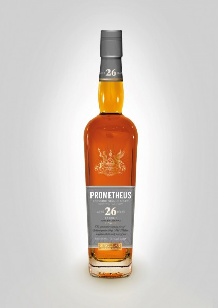 Prometheus Single Malt Whisky 26 Jahre, 0,7 L 47%