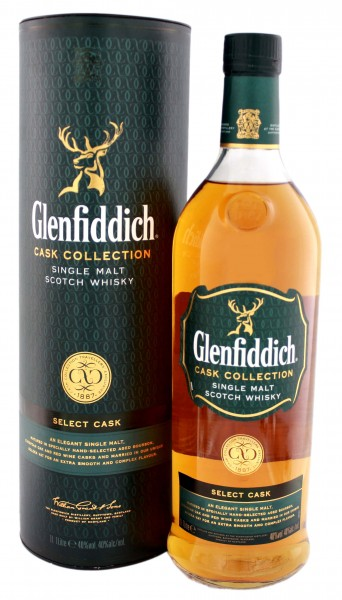 Glenfiddich Single Malt Whisky Select Cask