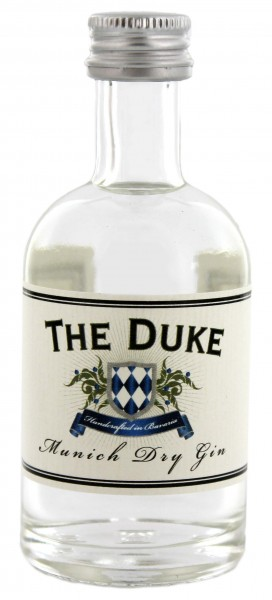 The Duke Munich Dry Gin Miniatur, 0,05 L 45%