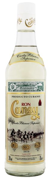 Caney Rum Carta Blanca 3 Years Old, 0,7 L, 38%