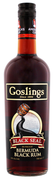 Gosling Black Seal Dark Bermuda Rum, 0,7 L, 40%