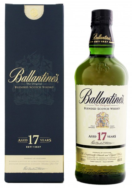 Ballantines Blended Scotch Whisky 17 Jahre 0,7L 40%