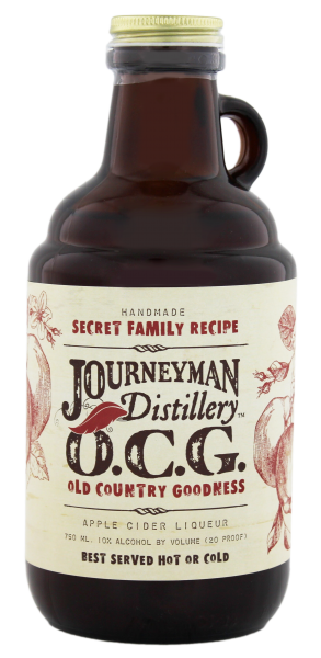 Journeyman Old Country Goodness Apple Cider Liqueur