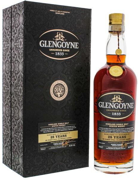 Glengoyne Single Malt Whisky 28 Jahre 0,7L 46,8%