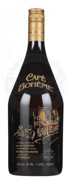 Cafe Boheme Cream Liqueur, 1 L, 16%