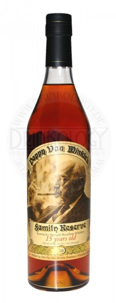 Pappy van Winkle's Family Reserve Whiskey 15 Years Old