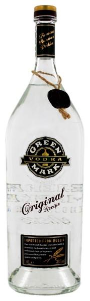 Green Mark Wheat Vodka 1,0L 38%