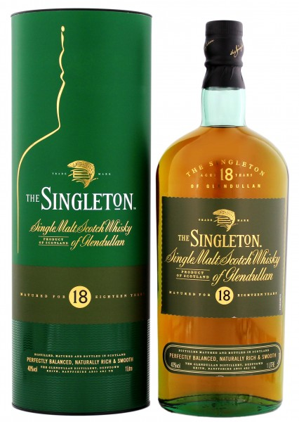 The Singleton of Glendullan Single Malt Whisky 18 Jahre 1,0L 40%