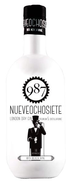 987 Nueveochosiete London Dry Gin 0,7L 40%