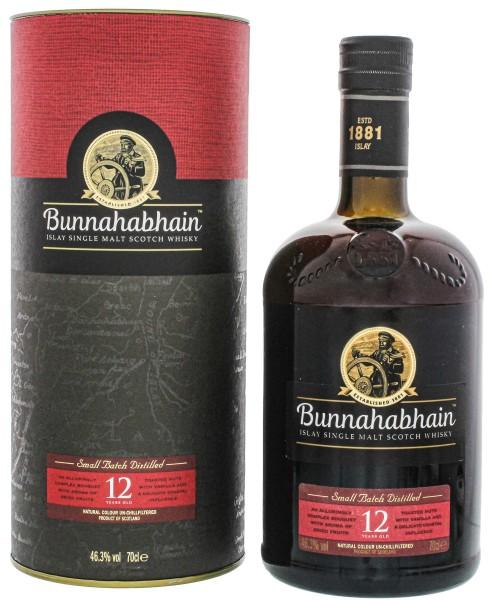Bunnahabhain Islay Single Malt Whisky 12 Jahre, 0,7 L, 46,3%