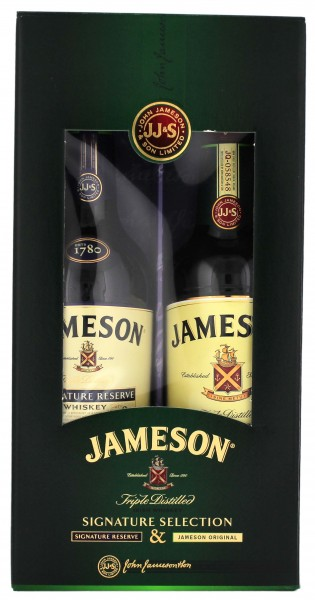 Jameson Irish Whiskey Pack Signature Reserve & Original, 2x0,5L 40%