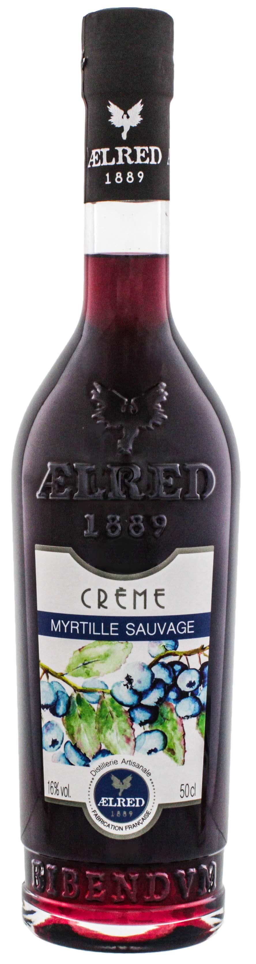 Aelred Liqueur 1889 Crème de Myrtille Sauvage (Heidelbeere) 0,5L 16%