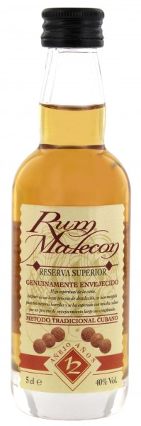 Malecon Rum Reserva Superior 12 Years Old Miniatur