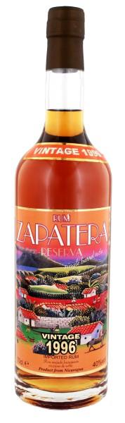 Zapatera Rum Reserva Vintage 1996, 0,7 L, 40%