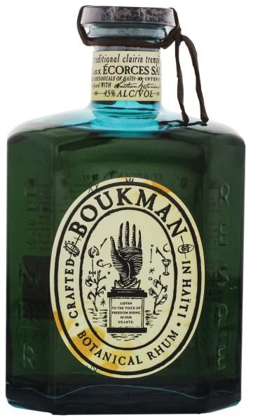 Boukman Haiti Botanical Rhum 0,7L 45%