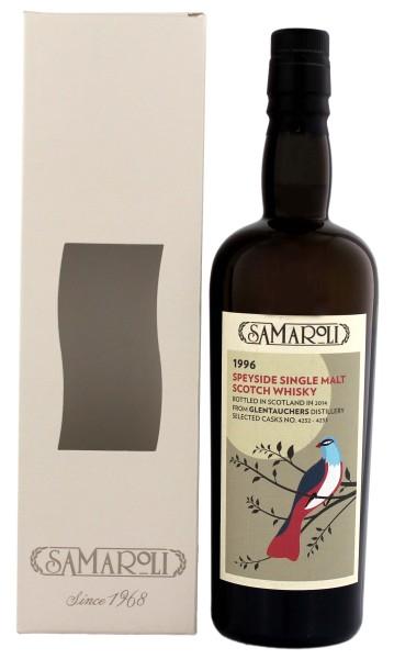 Samaroli Glentauchers Malt Whisky 1996, 17 Jahre