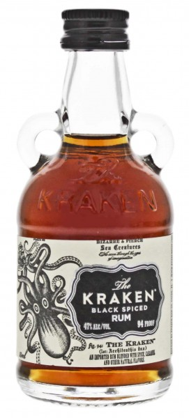 The Kraken Black Spiced Mini 0,05L 47%