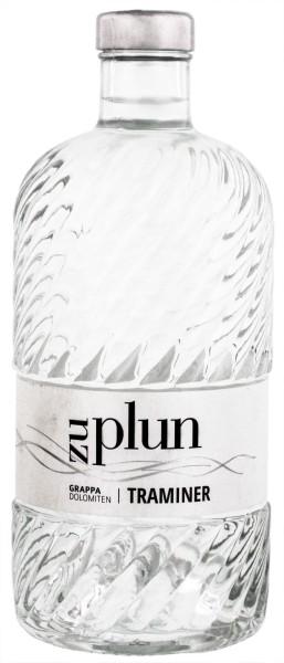 Zu Plun Grappa Traminer 0,5L 42%