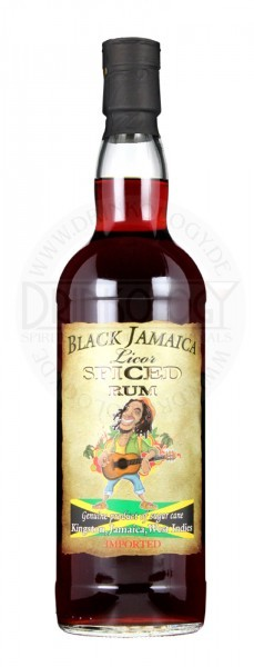 Black Jamaica Spiced Liqueur 0,7L 35%
