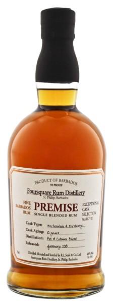 Foursquare Rum Premise 10 Jahre 0,7L 46%