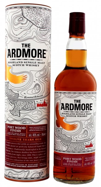 The Ardmore Single Malt Whisky Portwood Finish 12 Jahre
