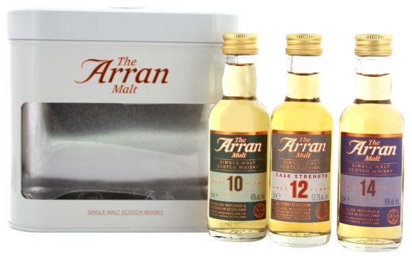 Arran Gifttin Miniatures 10/12/14 Jahre 3x0,05L 48,4%