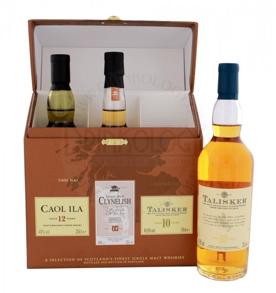 The Classic Malts Whisky Collection Coastal