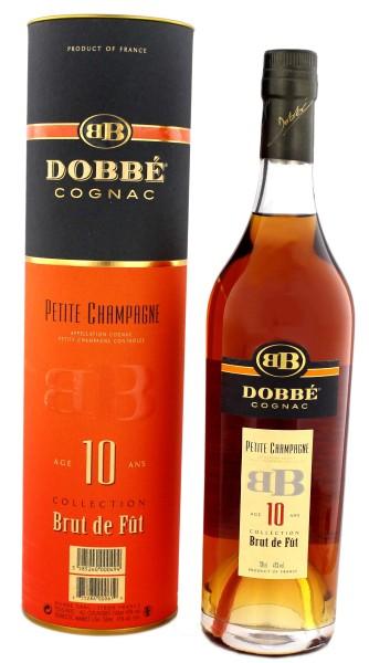 Dobbe Cognac Petit Champagne 10 Jahre,0,7L