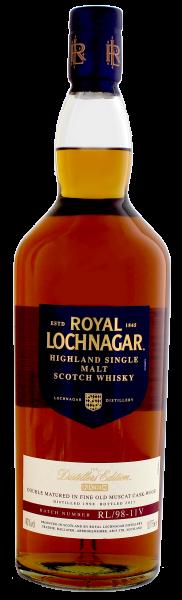 Royal Lochnagar Single Malt Whisky Distillers Edition 1998