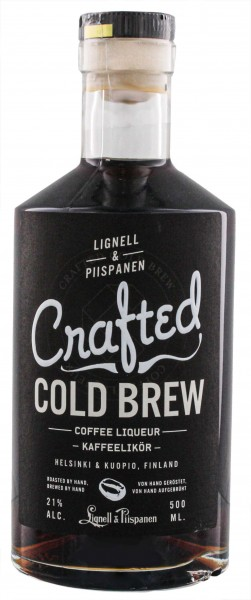 Crafted Cold Brew Coffee Liqueur 0,5L 21%