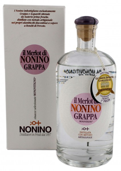 Nonino Grappa Il Merlot, 0,7 L, 41%