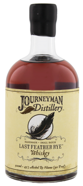 Journeyman Last Feather Rye Whiskey