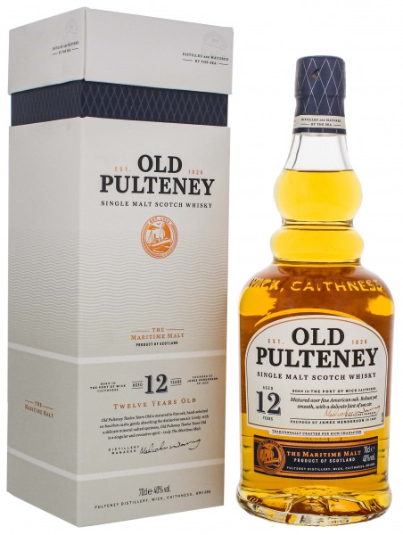 Old Pulteney Single Malt Whisky 12 Years Old 0,7L 40%