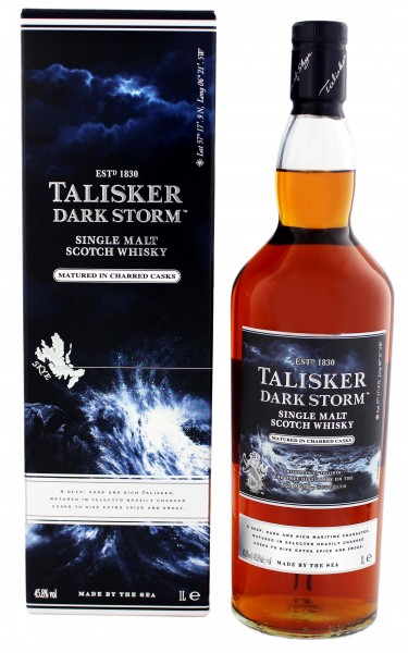 Talisker Single Malt Whisky Dark Storm 1,0 L, 45,8%