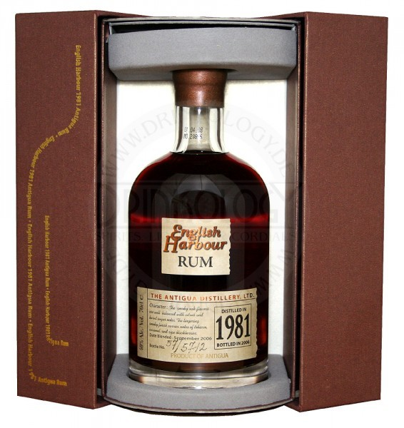 English Harbour Rum 25 Years Old