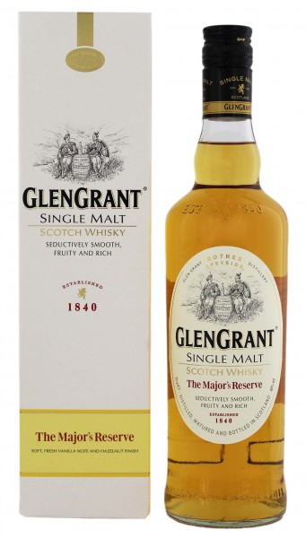 Glen Grant Single Malt Whisky The Majors Reserve