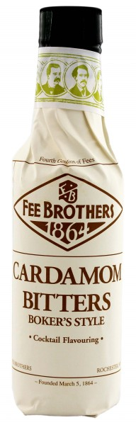Fee Brothers Cardamom Bitters - Boker's Style, 0,15 L, 8,41%
