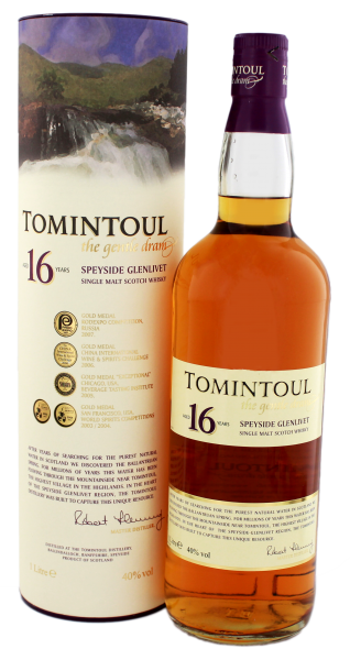 Tomintoul Single Malt Whisky 16 Years Old